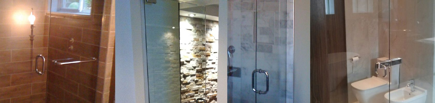 Sealed units, doors and glass showers